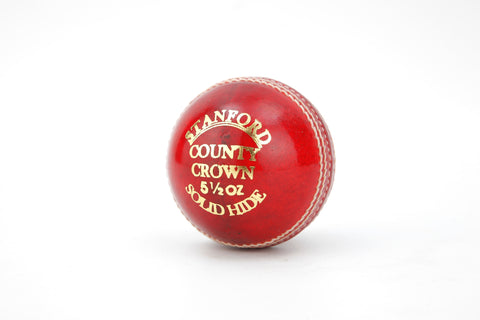 SF County Crown - Red Cricket Ball