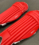 MRF Genius LE - Red Players Batting Pads