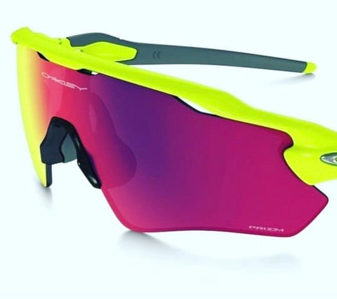 Oakley Prizm Neon Frame Radar EV Path - Sun Glasses