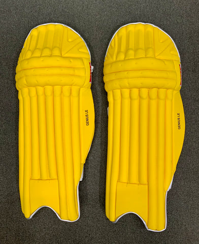 MRF Genius LE - Yellow Players Batting Pads