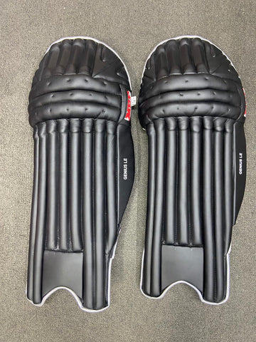 MRF Genius LE - Black Players Batting Pads