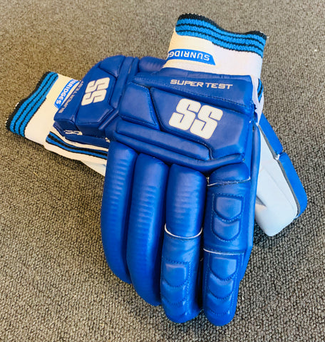 SS Super Test Players BLUE - Batting Gloves
