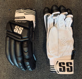 SS Super Test Players Black - Batting Gloves