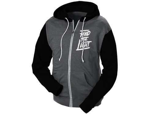 Find the Light - Zip Up Hoodie