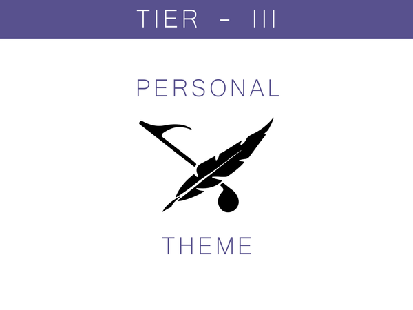 Personal Theme - Tier III + Custom Album Art