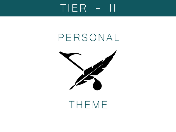 Personal Theme - Tier II
