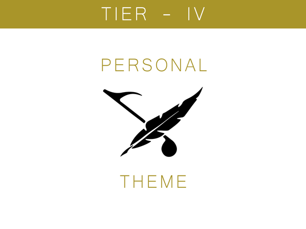 Personal Theme - Tier IV - Custom Project