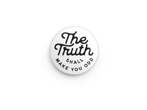 The Truth - Button