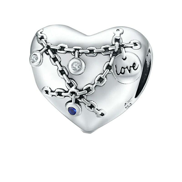 Locked Heart Charm