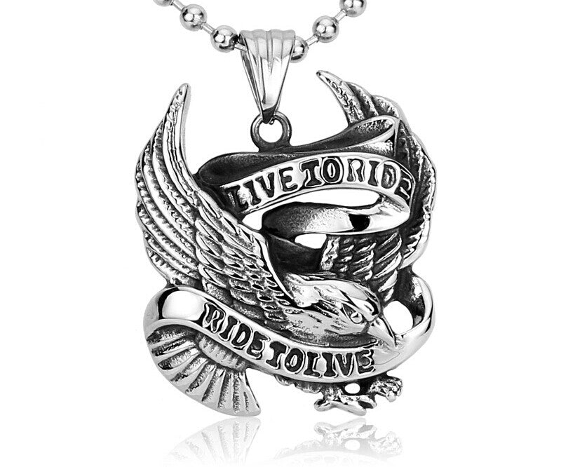 Live 2 Ride Necklace