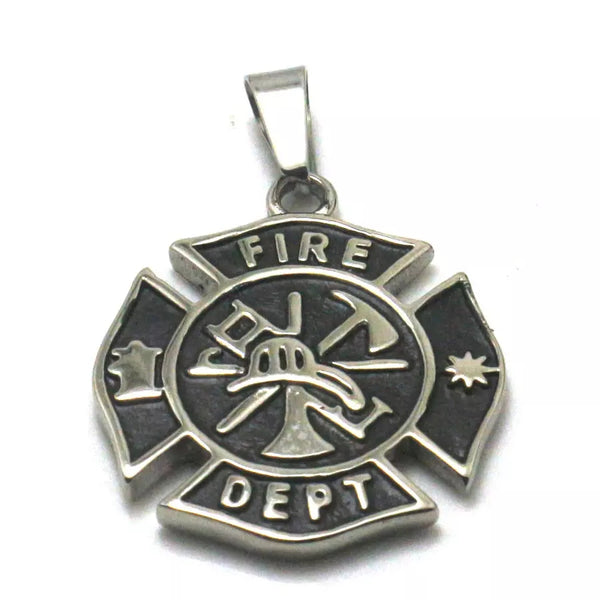 Fire Dept. Necklace