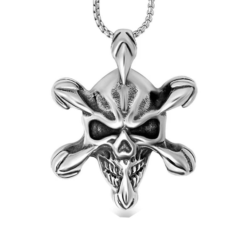 Skull Claw Necklace