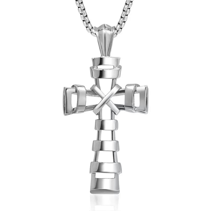 Elegant Cross Pendant/Necklace