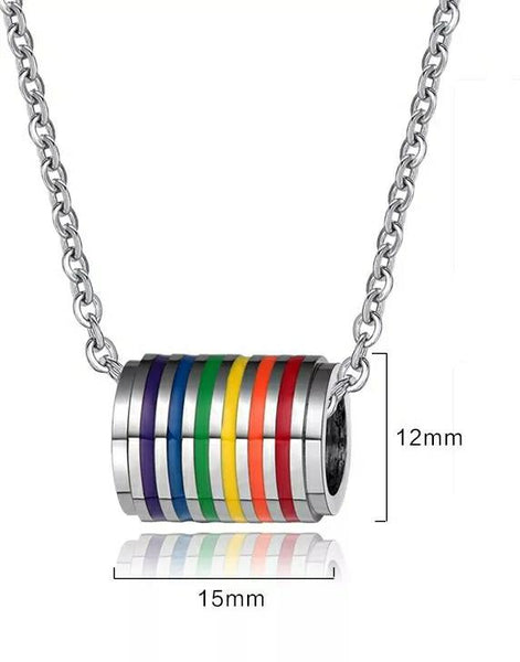 Pride Bracelet & Necklace Set