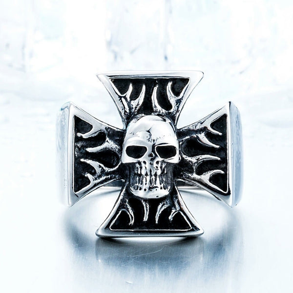 Iron Cross Flames