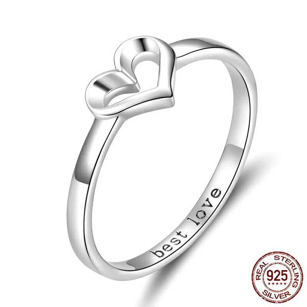 Shape Of Love Ring