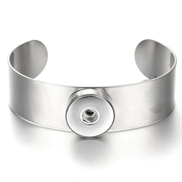 18mm Snap Botton Bangle