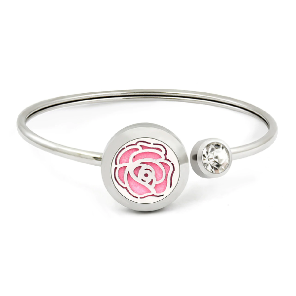20mm Aromatherapy Rose  Swing  Bangle