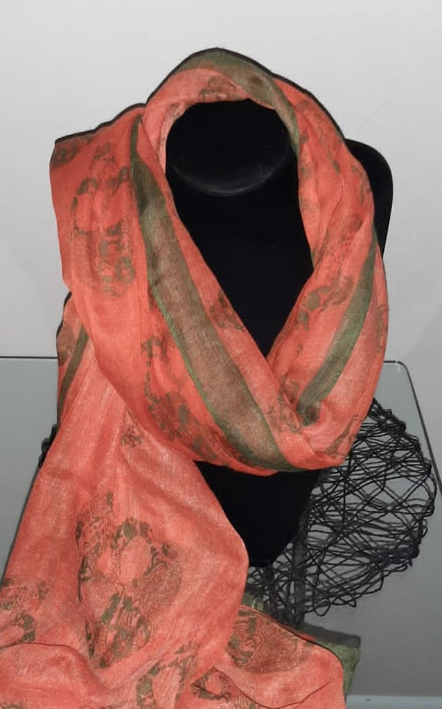 Burned Orange  Scarf