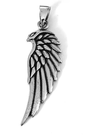 Eagle Head Wing Pendant