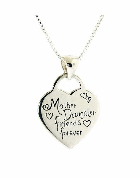 Mother Daughter friends forever Necklace