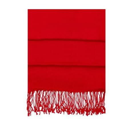 Red Pashma Scarf