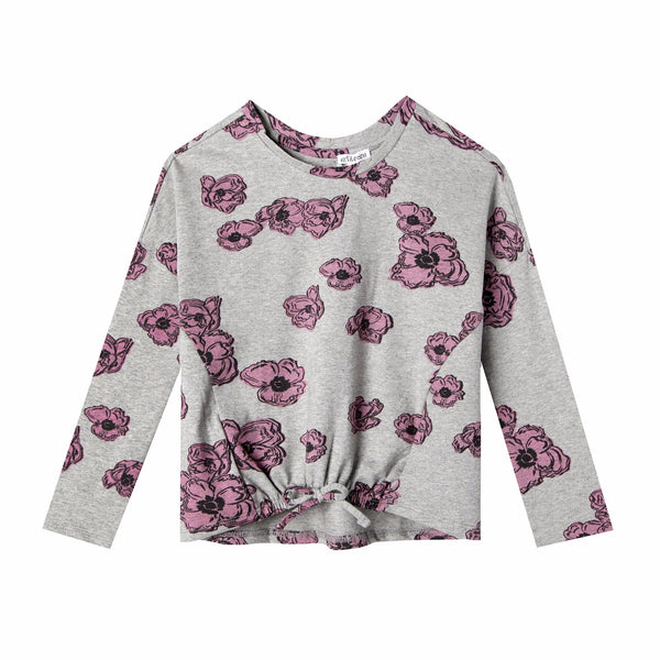 Poppy Long Sleeve Dolman Tee,Shirts,Art & Eden-The Little Clothing Company