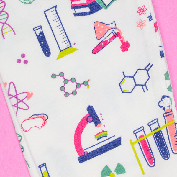 Science Baby & Girl Organic Cotton Leggings,Bottoms,Smarty Girl-The Little Clothing Company