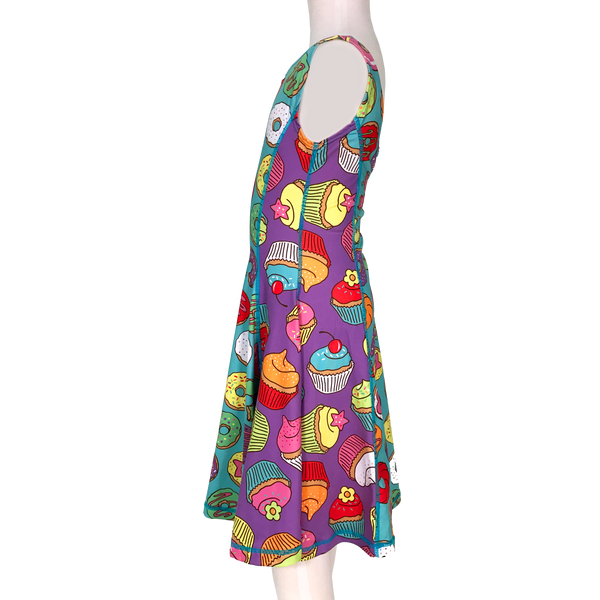 Sprinkles Girl Tank Twirl Dress