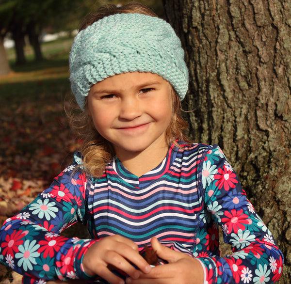 Knit Ear Warmer - 5 colors,Headband,Headbands of Hope-The Little Clothing Company