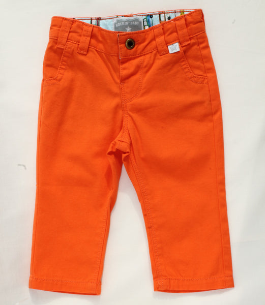 Chester Baby Orange Chino Pants