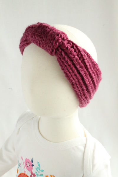 Knit Turban Headband - 2 colors,Headband,Headbands of Hope-The Little Clothing Company