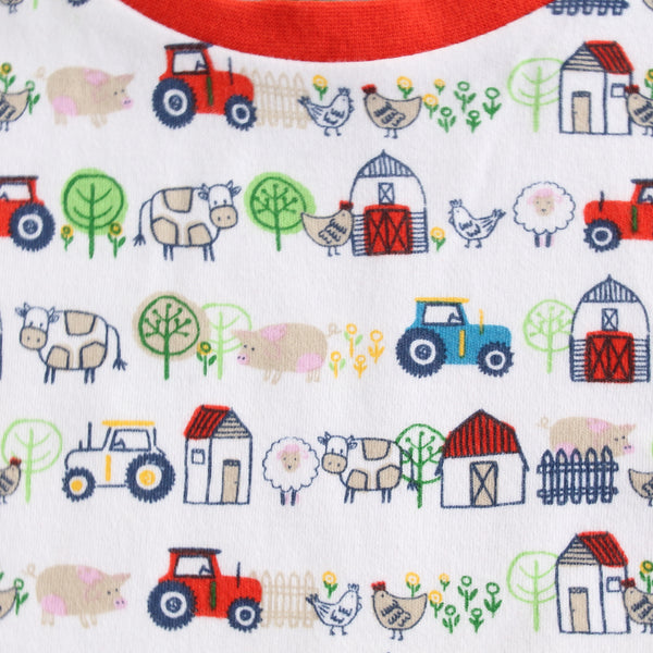 Down on the Farm Print Tee