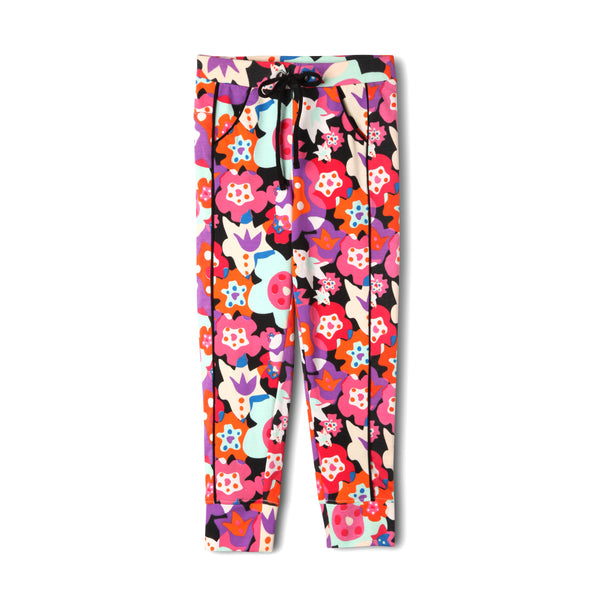 Floral Jogger Organic Cotton Legging,Bottoms,Art & Eden-The Little Clothing Company