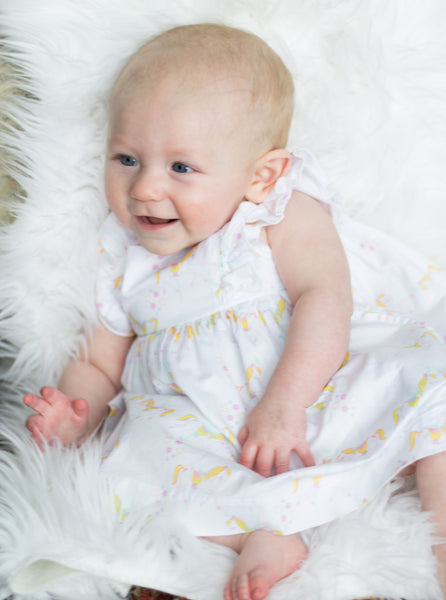 Princess of the Ponies Carousel Print Dress,Dresses,Rockin' Baby-The Little Clothing Company