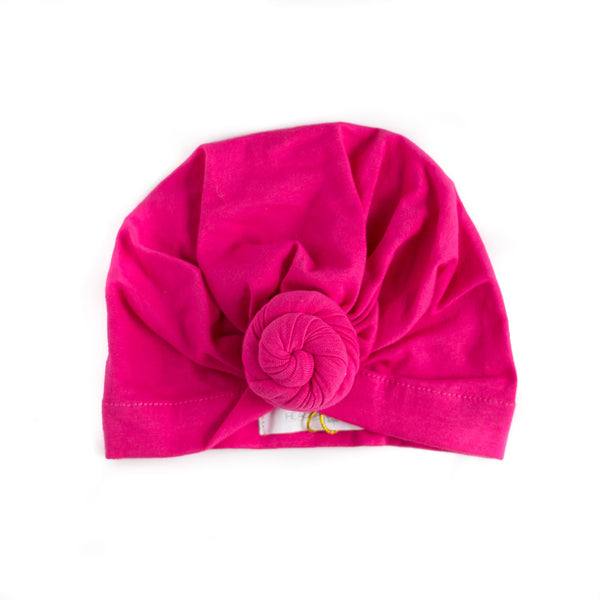 Baby Turban Headband Wrap - Hot Pink,Headband,Headbands of Hope-The Little Clothing Company