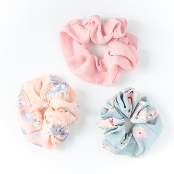 Girl's Scrunchie Headband - 3 colors