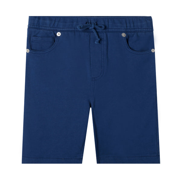 Navy blue organic cotton short