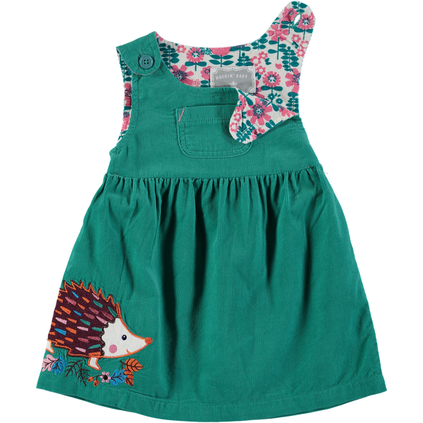 Polly Hedgehog Pinafore
