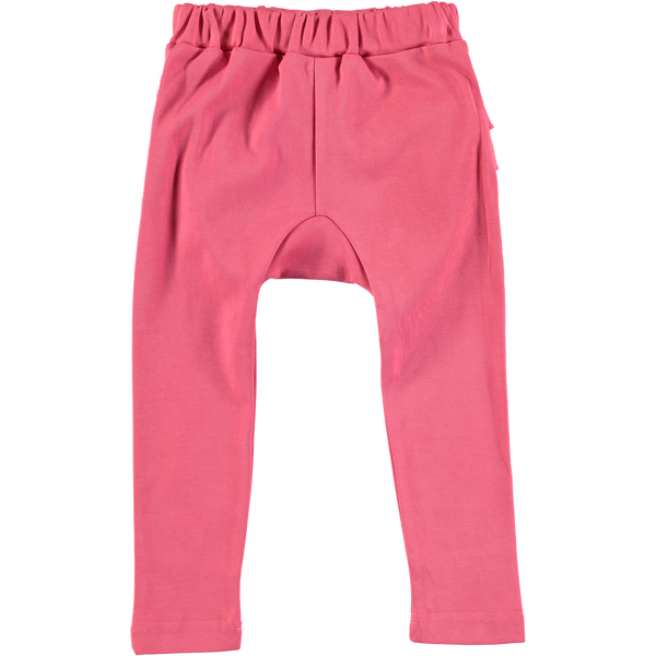 Baby and Girl Pink Ruffle Legging
