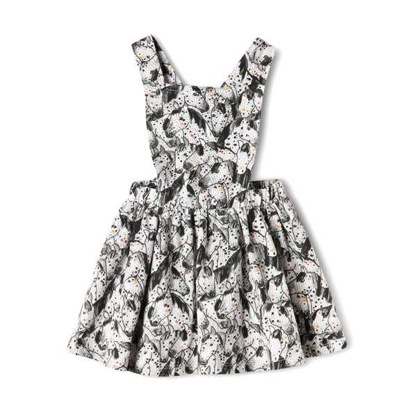 Winning Horse Baby Pinafore,Romper,Art & Eden-The Little Clothing Company