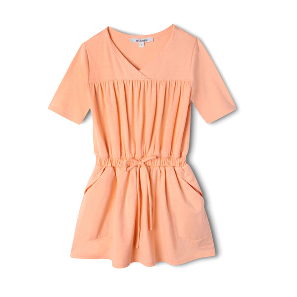 Sweet as a Peach Pocket Dress