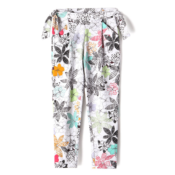 Wildflower Girl Side-Tie Legging,Bottoms,Art & Eden-The Little Clothing Company