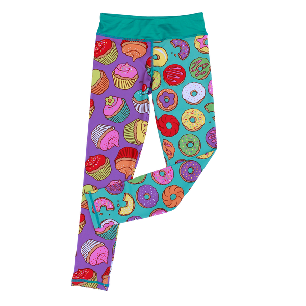 Sprinkles Girl Cropped Legging,Bottoms,Chooze-The Little Clothing Company