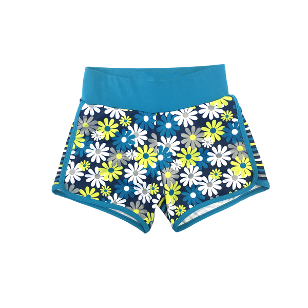 Daisy Days Running Shorts