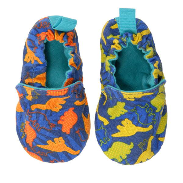 Roar Dinosaur Baby Booties,Shoes,Chooze-The Little Clothing Company
