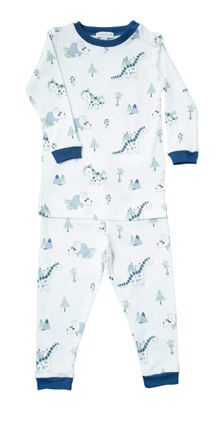 Baby and Boy Dinosaur Two Piece Pajama,Pajamas,Baby Noomie-The Little Clothing Company