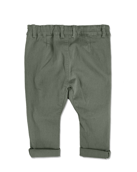 Baby Boy Olive Chino Pants,Bottoms,Me and Henry-The Little Clothing Company