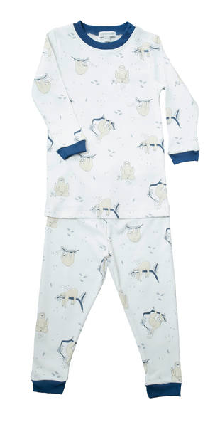 Baby Sloth Two Piece Pajamas,Pajamas,Baby Noomie-The Little Clothing Company