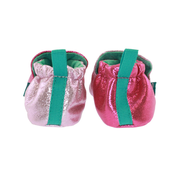 Pink Sparkle Baby Bootie,Shoes,Chooze-The Little Clothing Company